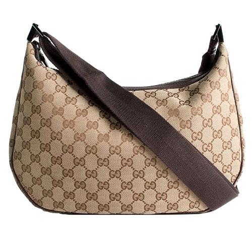 Gucci GG Fabric Medium Shoulder Handbag