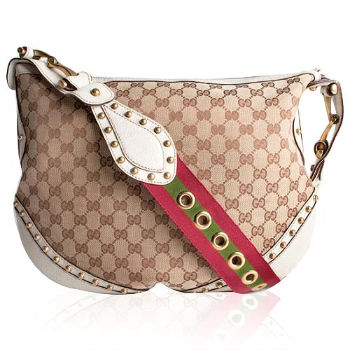 Gucci GG Fabric Pelham Medium Shoulder Handbag