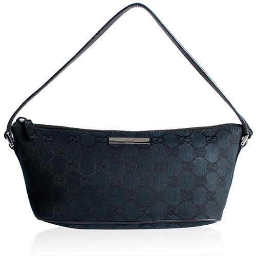 Gucci GG Fabric Pochette Handbag
