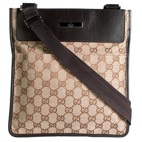 Gucci GG Fabric Small Messenger Handbag
