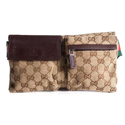 Gucci GG Fabric Waist Belt Handbag