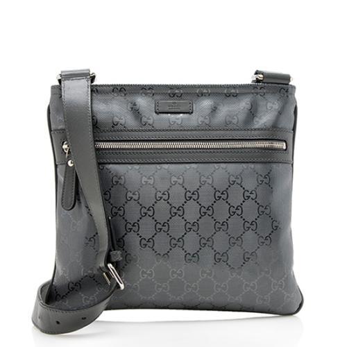 Gucci GG Imprime Flat Messenger Bag