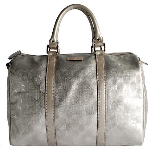 Gucci GG Imprime Joy Medium Boston Satchel Handbag