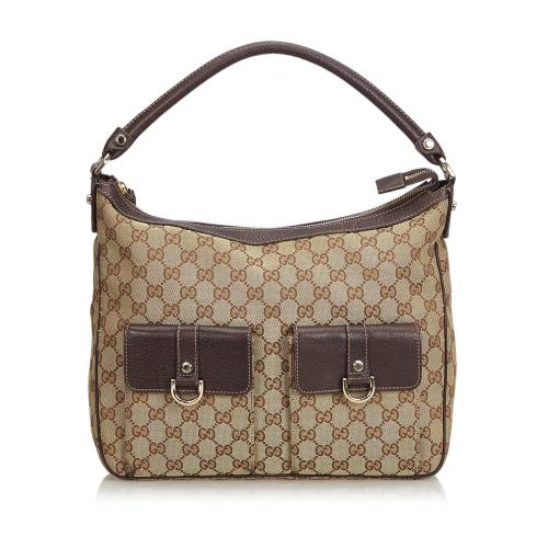 Gucci GG Jacquard Satchel