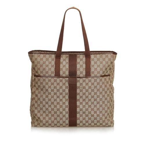 Gucci GG Jacquard Travel Bag