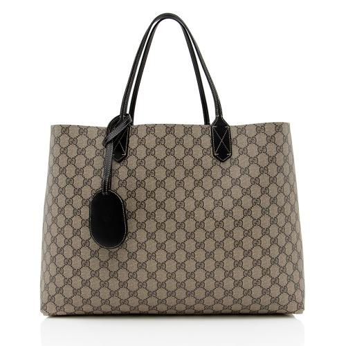 Gucci GG Supreme Leather Large Reversible Tote