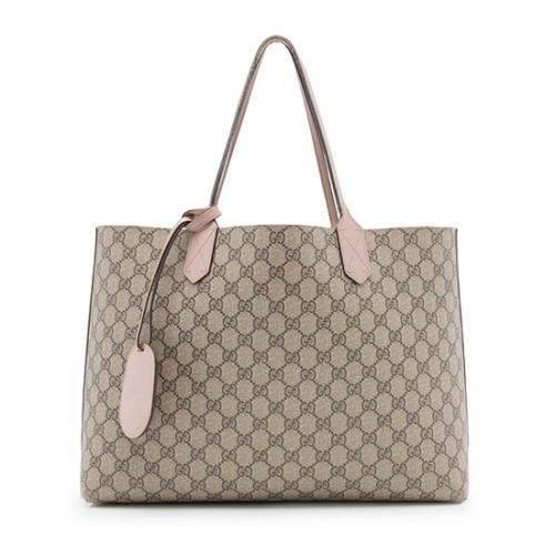 Gucci GG Leather Medium Reversible Tote