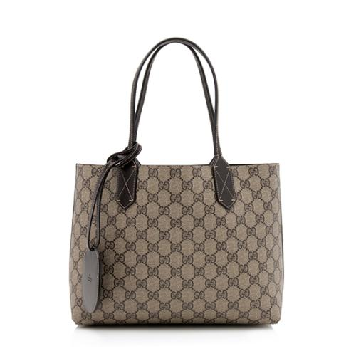 Gucci GG Leather Small Reversible Tote