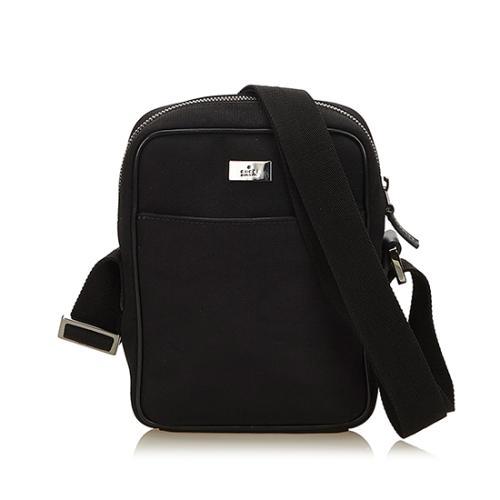 Gucci GG Nylon Camera Crossbody Bag