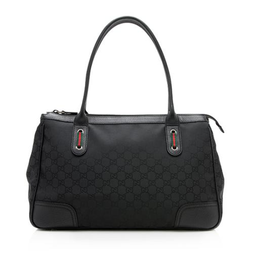 Gucci GG Nylon Princy Boston Bag