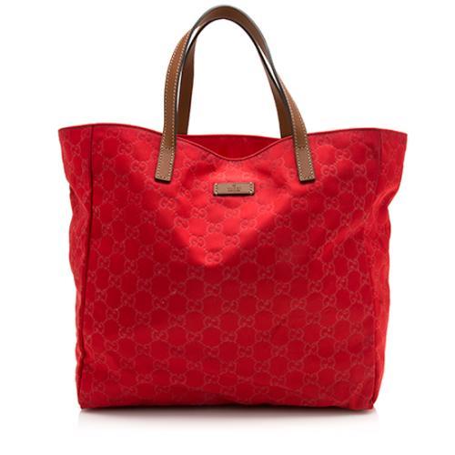 Gucci GG Nylon Shopping Tote