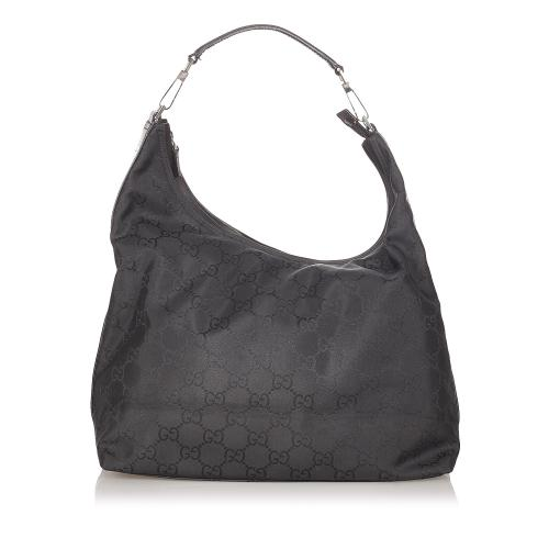 Gucci GG Nylon Shoulder Bag