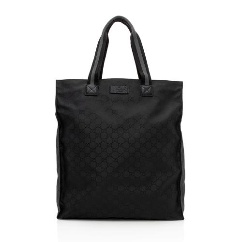 Gucci GG Nylon Travel Tote