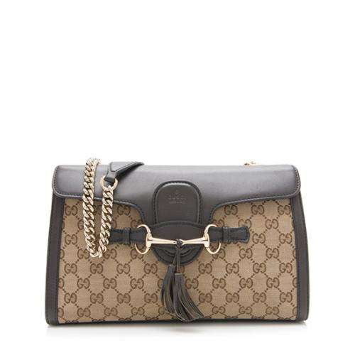 Gucci GG Canvas Original Emily Shoulder Bag