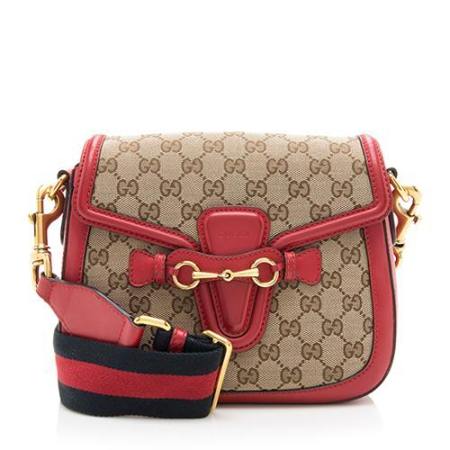Gucci GG Original Lady Web Medium Shoulder Bag