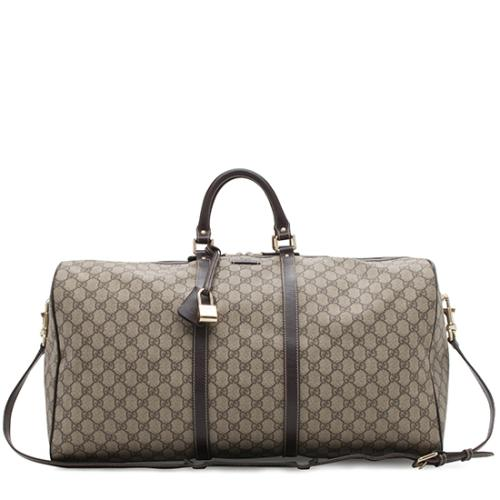 Gucci GG Plus Carry On Duffel Bag