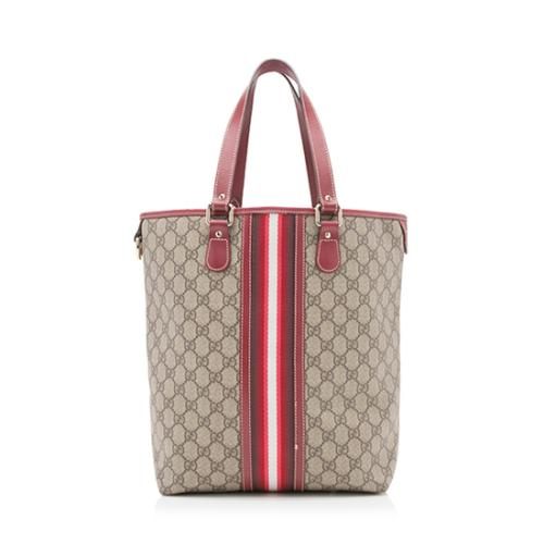 Gucci GG Plus Fabric Web Tote