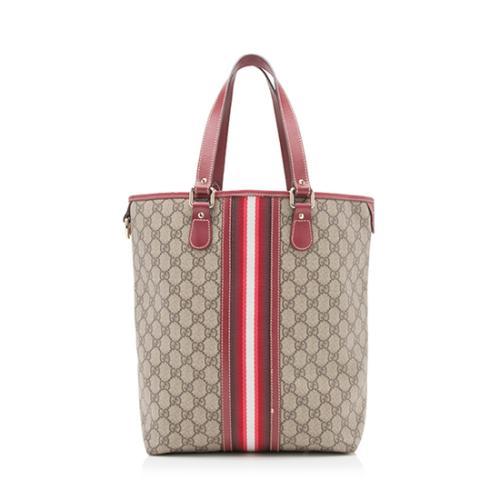 Gucci GG Plus Fabric Web Tote