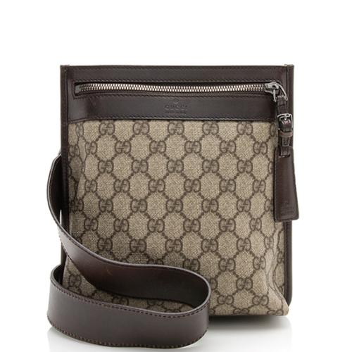 Gucci GG Plus Flat Messenger Bag