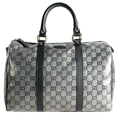 Gucci GG Plus Joy Medium Boston Satchel Handbag