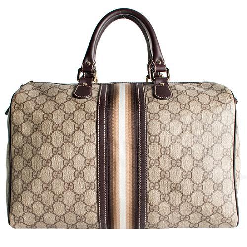 Gucci GG Plus Joy Medium Boston Satchel Handbag