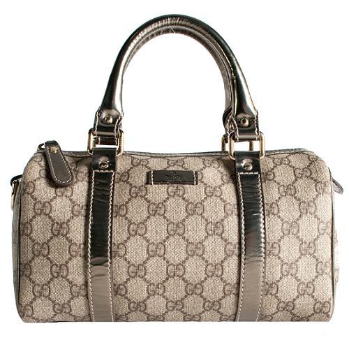 Gucci GG Plus Joy Small Boston Satchel Handbag