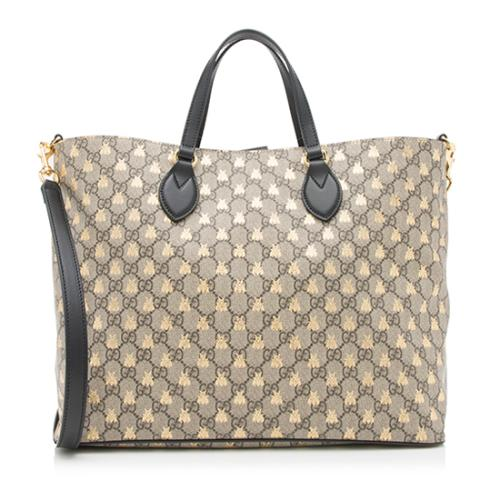 256ae995972d Gucci-GG-Supreme-Bees-Tote_95432_front_large_2.jpg
