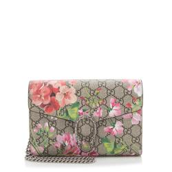 Gucci GG Supreme Blooms Dionysus Chain Wallet