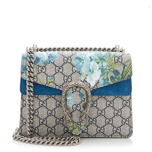 Gucci GG Supreme Blooms Dionysus Mini Shoulder Bag