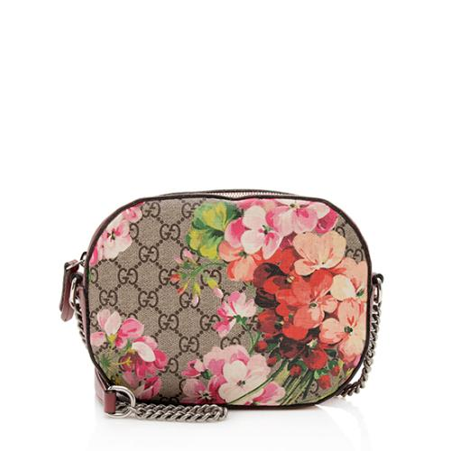 Gucci GG Supreme Blooms Mini Chain Bag