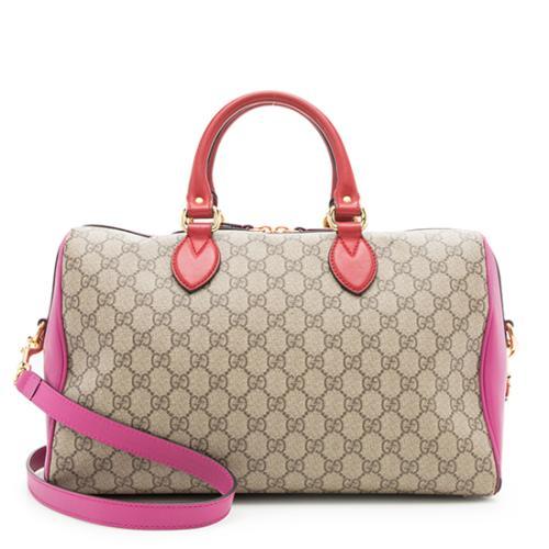 Gucci GG Supreme Boston Bag - FINAL SALE