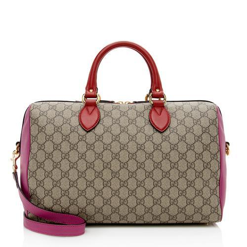 Gucci GG Supreme Boston Satchel