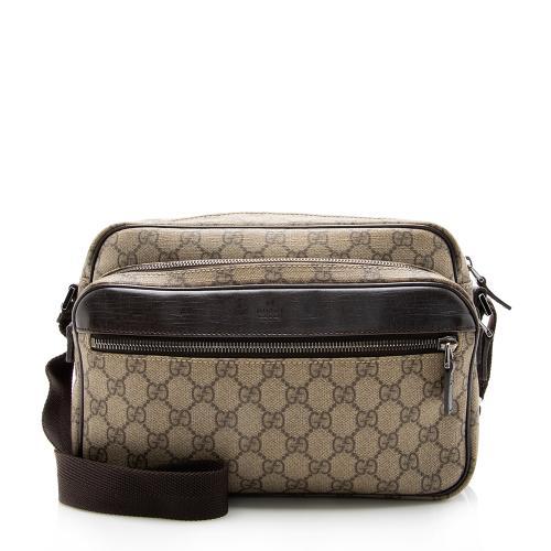 Gucci GG Supreme Classic Camera Small Messenger Bag