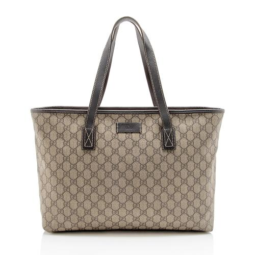 Gucci GG Supreme Classic Medium Tote