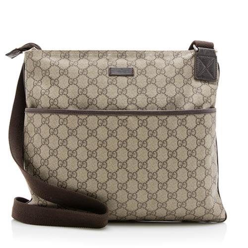 Gucci GG Supreme Classic Messenger Bag