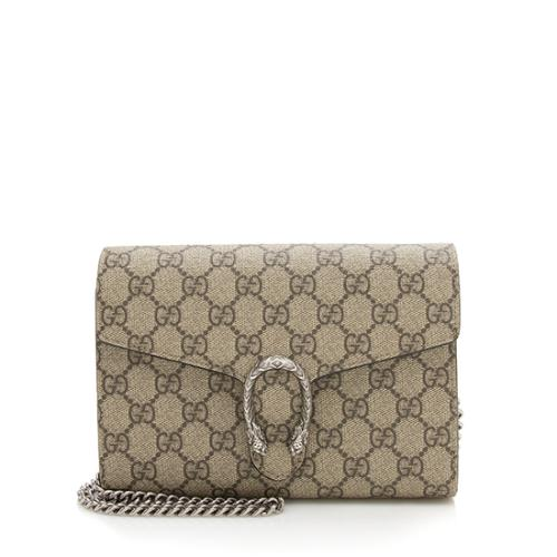 Gucci GG Supreme Dionysus Chain Wallet