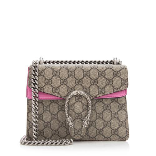 61f504379cb4 Gucci GG Supreme Dionysus Mini Bag