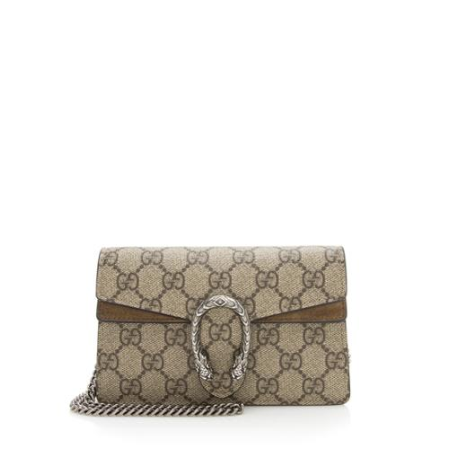 Gucci GG Supreme Dionysus Super Mini Bag