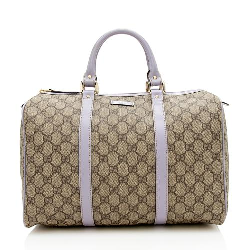 Gucci GG Supreme Joy Boston Satchel