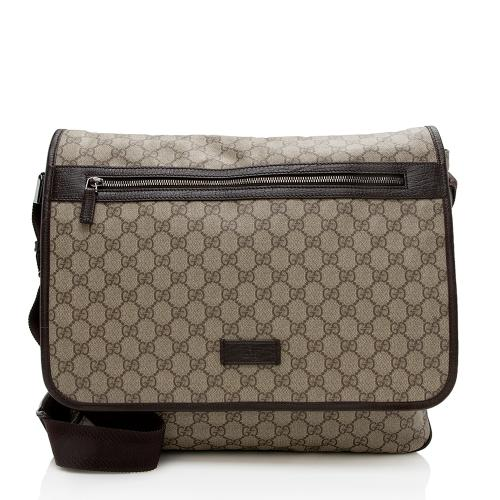 Gucci GG Supreme Large Messenger Bag