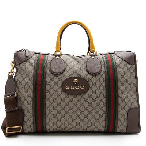 Gucci GG Supreme Neo Vintage Duffel Bag
