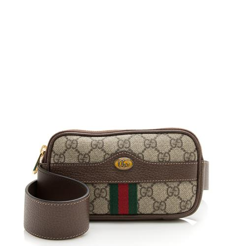 Gucci GG Supreme Ophidia Belt Bag - Size 85