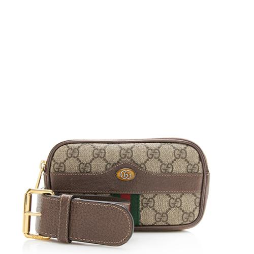 Gucci GG Supreme Ophidia Belt Bag - Size 95