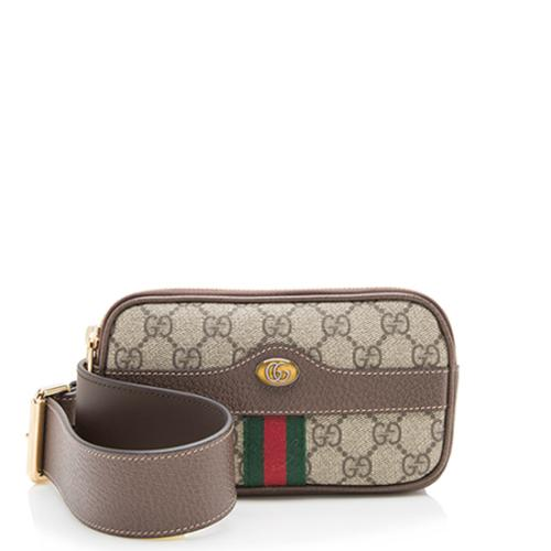 fed0850e2991 Gucci GG Supreme Ophidia Belt Bag - Size 95