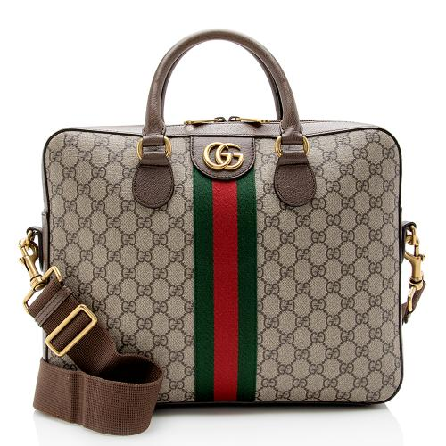 Gucci GG Supreme Ophidia Briefcase