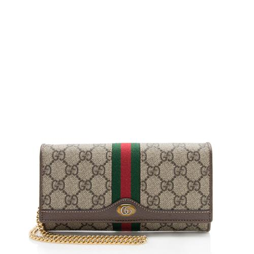 Gucci GG Supreme Ophidia Chain Wallet