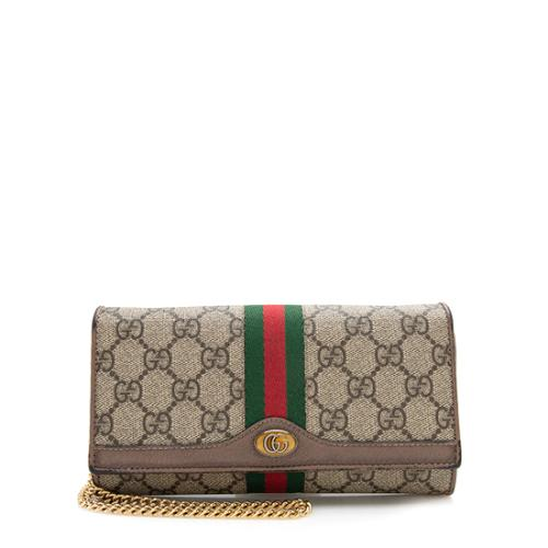 Gucci GG Supreme Ophidia GG Chain Wallet