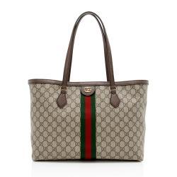 Gucci GG Supreme Ophidia Medium Shopping Tote
