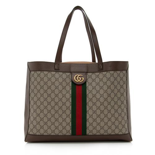 Gucci GG Supreme Ophidia Medium Soft Tote