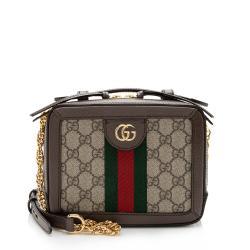Gucci GG Supreme Ophidia Mini Top Handle Bag